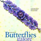 Y438 Bead PATTERN ONLY Beaded Butterflies Galore Floral Bracelet Pattern