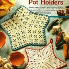Y519 Crochet PATTERN ONLY Star Pot Holder Patterns in Two Styles & Sizes