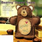 "Y653 Sewing PATTERN ONLY ""Bearing"" Sweet Treats Bear Candy Holder Pattern"