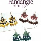 Y651 Bead PATTERN ONLY Beaded Fandangle Earrings Pattern