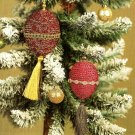 Y712 Crochet PATTERN ONLY Old-Time Christmas Ornament Treasures Patterns