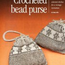 X788 Crochet Bead PATTERN ONLY Beaded Vintage Style Purse Pattern