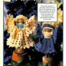 X452 Crochet PATTERN ONLY Clothespin Angels Aster & Calendula Doll