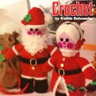 X671 Crochet PATTERN ONLY Christmas Crochet Vol 1 Mr. & Mrs. Santa Claus Dolls