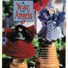 X258 Crochet PATTERN ONLY Clothespin Angels Poppy and Larkspur Dolls Pattern