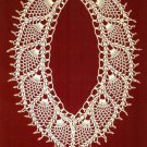 X996 Beaded PATTERN ONLY Beaded Elegant Pineapple Lace Necklace