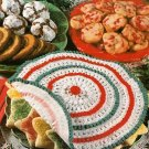 Y084 Crochet PATTERN ONLY Cookie Plate Cover Doily