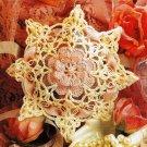 X164 Crochet PATTERN ONLY Delicate Lacy Rose Sachet Pattern