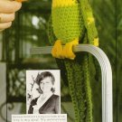 Y416 Crochet PATTERN ONLY Polly Parrot Toy Doll Bird Pattern