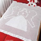 Y920 Crochet PATTERN ONLY Heavenly Angel Christmas Afghan Pattern