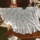 X142 Crochet PATTERN ONLY Winter Lace Christmas Tree Skirt Pattern