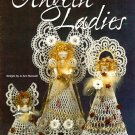 X780 Crochet PATTERN Book ONLY 3 Angelic Ladies Ornament Décor