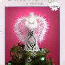 Y929 Crochet PATTERN Book ONLY Tree Top Angel Christmas Pattern