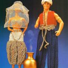 X624 Crochet PATTERN ONLY Fashion Doll Arabian Nights Genie Princess Barbie