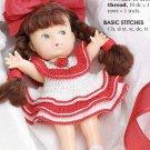 X777 Crochet PATTERN ONLY Stocking Stuffer Doll Dress Pattern