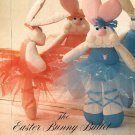 X387 Sewing PATTERN ONLY Easter Bunny Ballet Soft Body Doll Toy Pattern