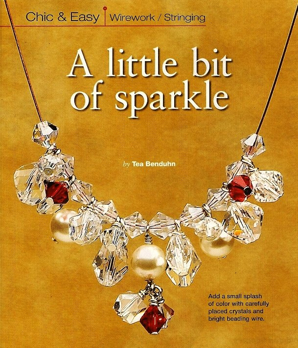 Y206 Bead PATTERN ONLY Beaded Bit of Sparkle Necklace Pattern