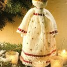 X187 Crochet PATTERN ONLY Soft Sculpture Snow Queen Christmas Doll Pattern