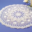 W179 Crochet PATTERN ONLY Romantic Hearts & Pineapples Doily Pattern