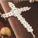X284 Crochet PATTERN ONLY Cross Bookmark & Easy Bandana Scarf Pattern