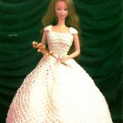 Y966 Crochet PATTERN ONLY Fit for a Queen Fashion Doll Gown & Crown Pattern