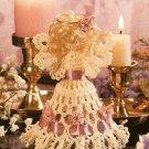 X565 Crochet PATTERN ONLY Little Angel Christmas Ornament Pattern