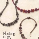 X144 Bead PATTERN ONLY Beaded Floating Beaded Bead Rings Necklace Pattern