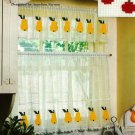 X089 Filet Crochet PATTERN ONLY Cafe Curtin and Valance Pattern