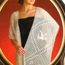 X313 Filet Crochet PATTERN ONLY Peace Dove Shawl Pattern