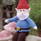 W244 Crochet PATTERN ONLY Garden Gnome Toy Doll Pattern