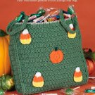 W242 Crochet PATTERN ONLY Halloween Treat Bag Tote Pattern
