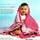 Y663 Crochet PATTERN ONLY Clever Crochet Baby Blanket Pattern