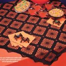 Y816 Crochet PATTERN ONLY Spider Web Table Cover Centerpiece Pattern