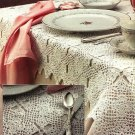 X641 Crochet PATTERN ONLY Lacy Kismet Tablecloth Pattern
