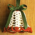 X981 Crochet PATTERN ONLY Cro-Tat Bell Christmas Ornament