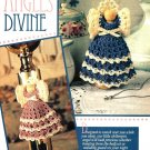 Y465 Crochet PATTERN ONLY Clothespin Angels Divine Ornament Dolls Pattern