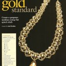 X448 Bead PATTERN ONLY Beaded Gorgeous Gold Standard Necklace Pattern