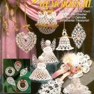 X587 Crochet PATTERN ONLY Victorian Memories 3 Christmas Ornament Patterns