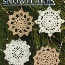 Y261 Crochet PATTERN ONLY 8 Snowflake Christmas Ornaments Patterns