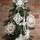 X904 Crochet PATTERN ONLY Seven Wonders Snowflake Ornament Pattern