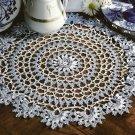 Y197 Crochet PATTERN ONLY Summer Flowers Doily Pattern