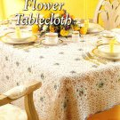 Y340 Crochet PATTERN ONLY Delicate Lacy Flower Tablecloth Pattern