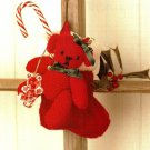 Y714 Crochet PATTERN ONLY Tiny Baby Bear Christmas Ornament or Toy Pattern