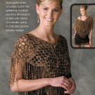 W181 Crochet PATTERN ONLY Gold Nugget Cocktail Cover-Up Pattern
