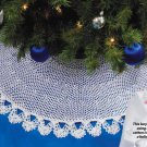 Y918 Crochet PATTERN ONLY Lacy Christmas Tree Skirt Pattern