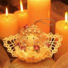 Y717 Crochet PATTERN ONLY Angelic Grace Christmas Ornament Pattern