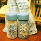 Y556 Crochet PATTERN ONLY Crochet Salt & Pepper Shaker Cover Dishcloth Patterns