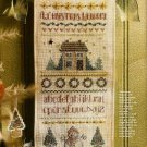 W438 Cross Stitch PATTERN ONLY A Christmas Welcome Sampler Pattern Chart