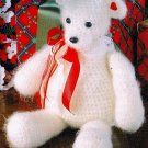 W471 Crochet PATTERN ONLY Snuggly Fuzzy Teddy Bear Toy Doll Pattern