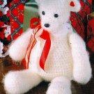 W471 Crochet PATTERN ONLY Snuggly Fuzzy Teddy Bear Toy Doll Pattern